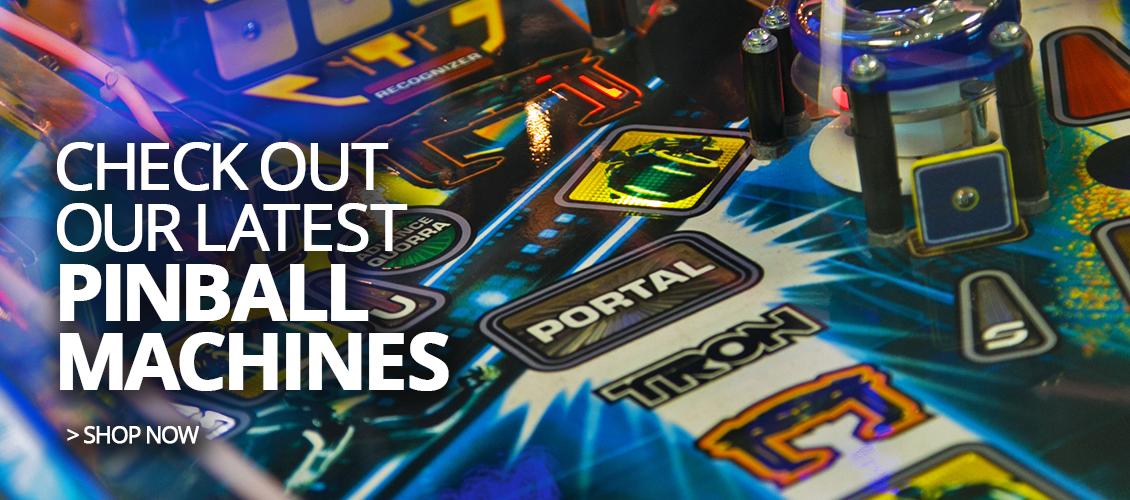 Pinball Machines Banner