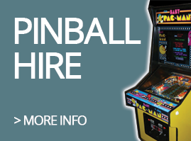 Pinball--Hire Uk based Pinball Heaven parts to buy
