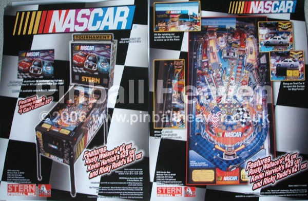 flyernascar_lg.jpg Uk based Pinball Heaven parts to buy