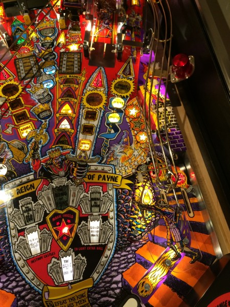 madness pinball machine