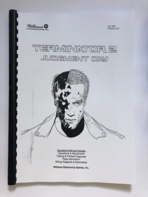 terminator 2 pinball machine manual