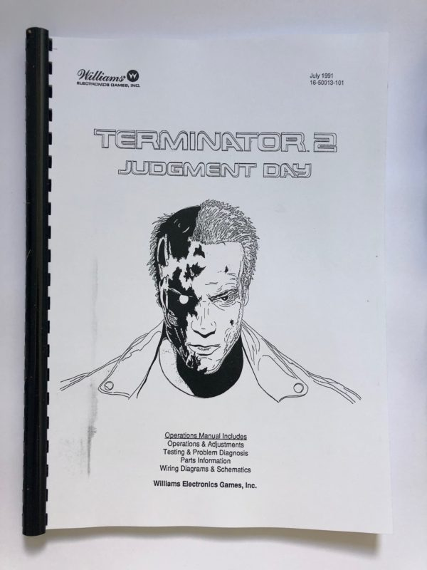 terminator 2 pinball machine manual