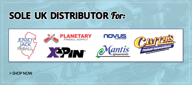 Sole-Uk-Distributor-Banner Uk based Pinball Heaven parts to buy