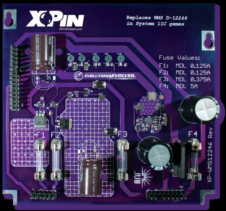 xp-wms12246 Uk based Pinball Heaven parts to buy