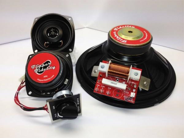 Speaker Upgrade Kit For Stern Games 1999 2014 Pinball Heaven