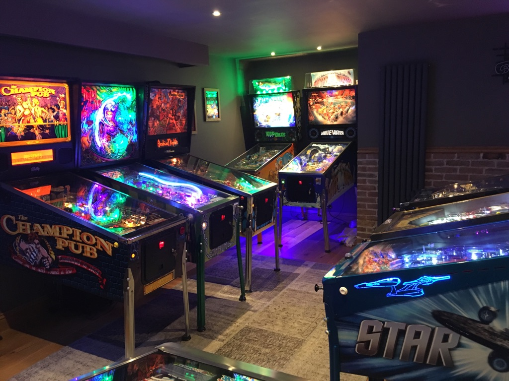 Ultimate Home Pinball Arcade Amp Games Room Pinball Heaven