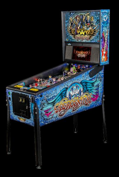 Aerosmith-Pro-pinball-machine