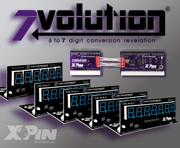 xpin 7volutionUk based Pinball Heaven specialise in pinball machine parts, providing pinball machines to buy and rent with thousands of parts available in stock