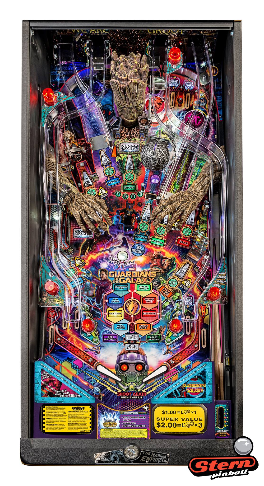 guardians of the galaxy by stern pinball pinball heaven
