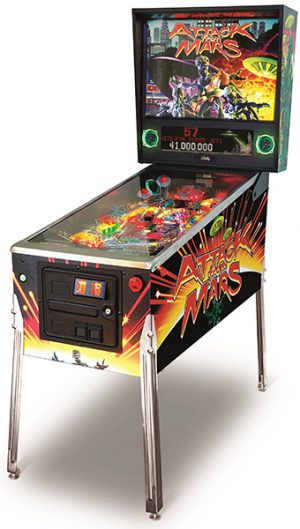 Iconic Attack From Mars Pinball
