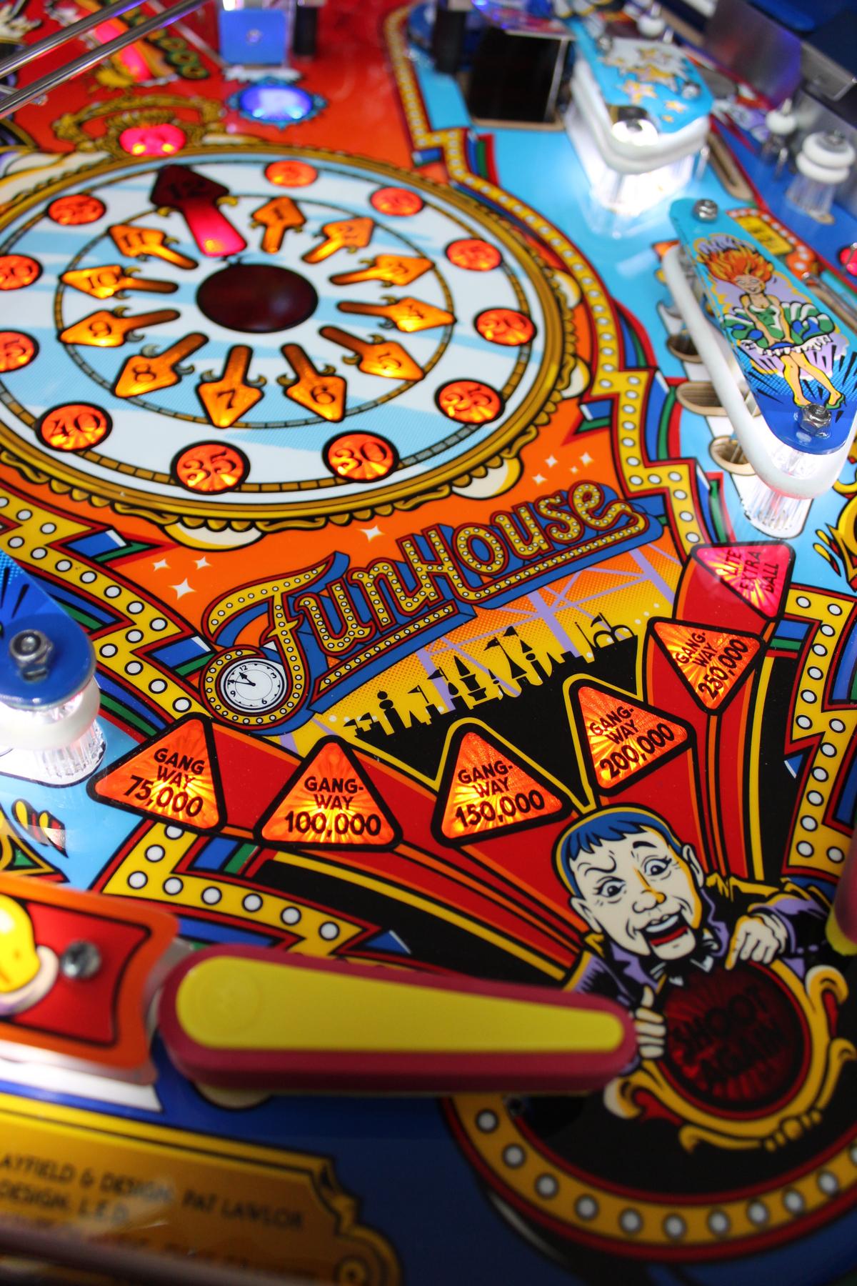 Funhouse pinball (1991) PREMIUM RESTORATION
