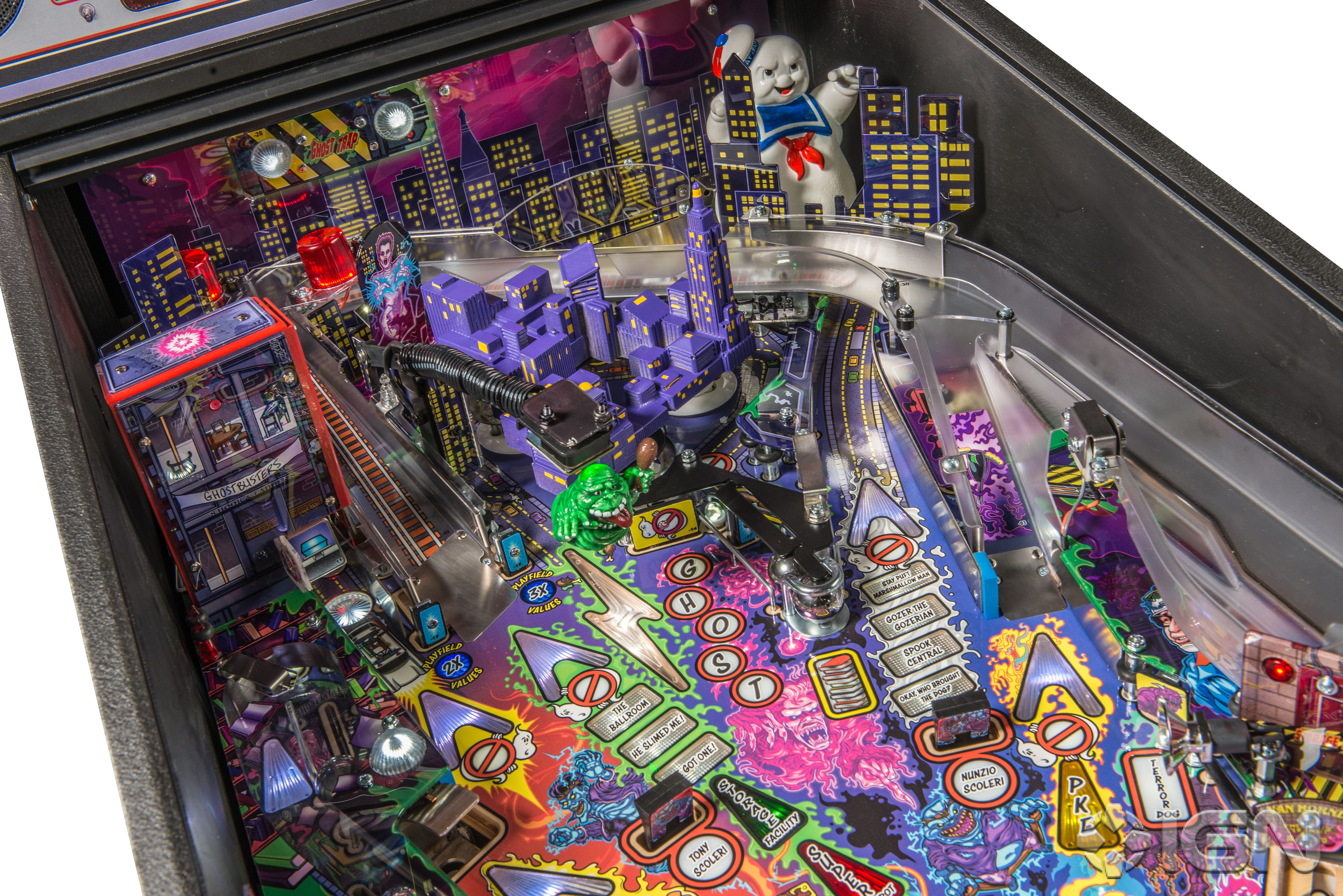 Ghostbusters by Stern Pinball