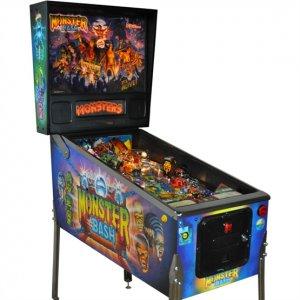 Fully Restored Monster Bash Pinball Machine For Sale