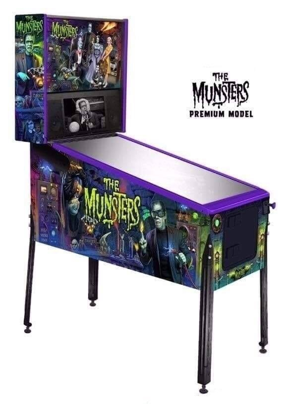 Stern Munsters Pinball Machine - Premium Edition