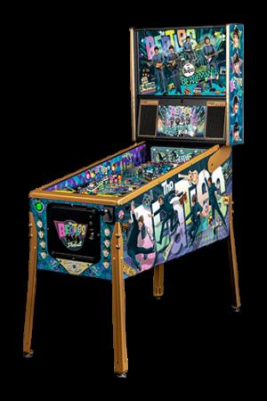 Order The Beatles Pinball Machine Gold Edition