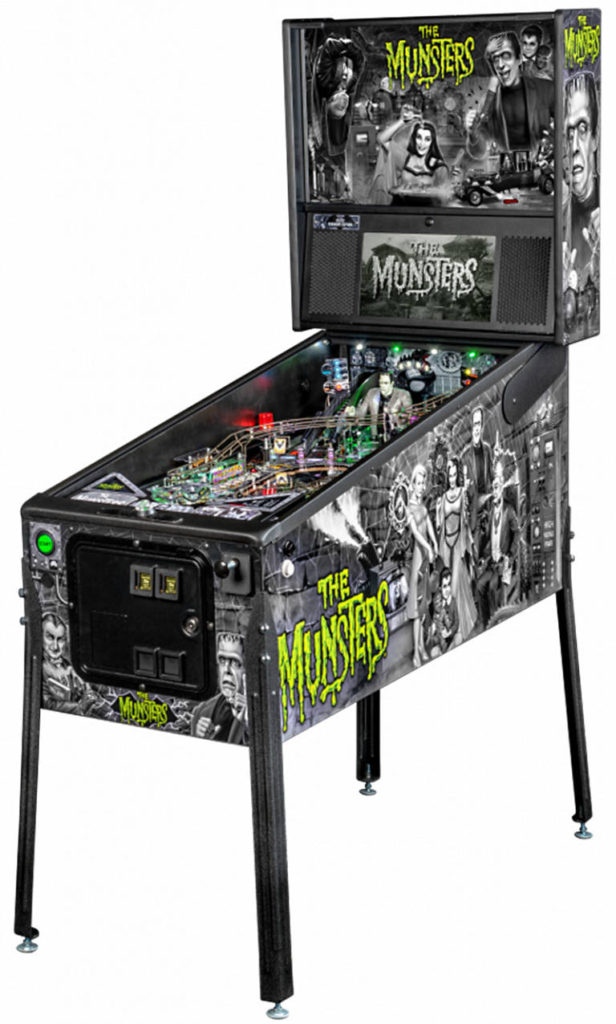 Munsters Pinball Machine Premium Edition