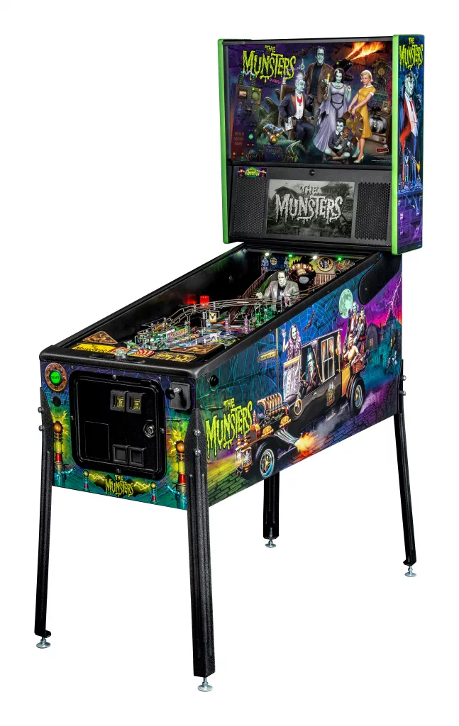 Munsters Pinball Machine Pro Edition