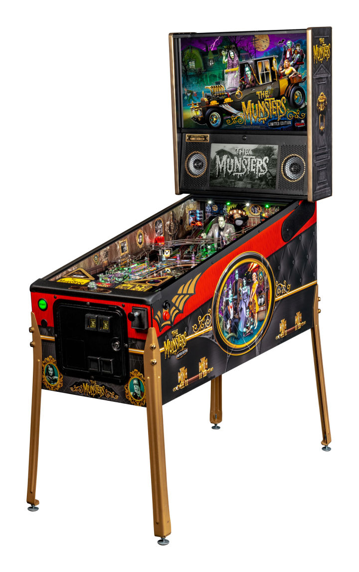 Munsters Pinball Machine Pro, Premium or Limited Edition