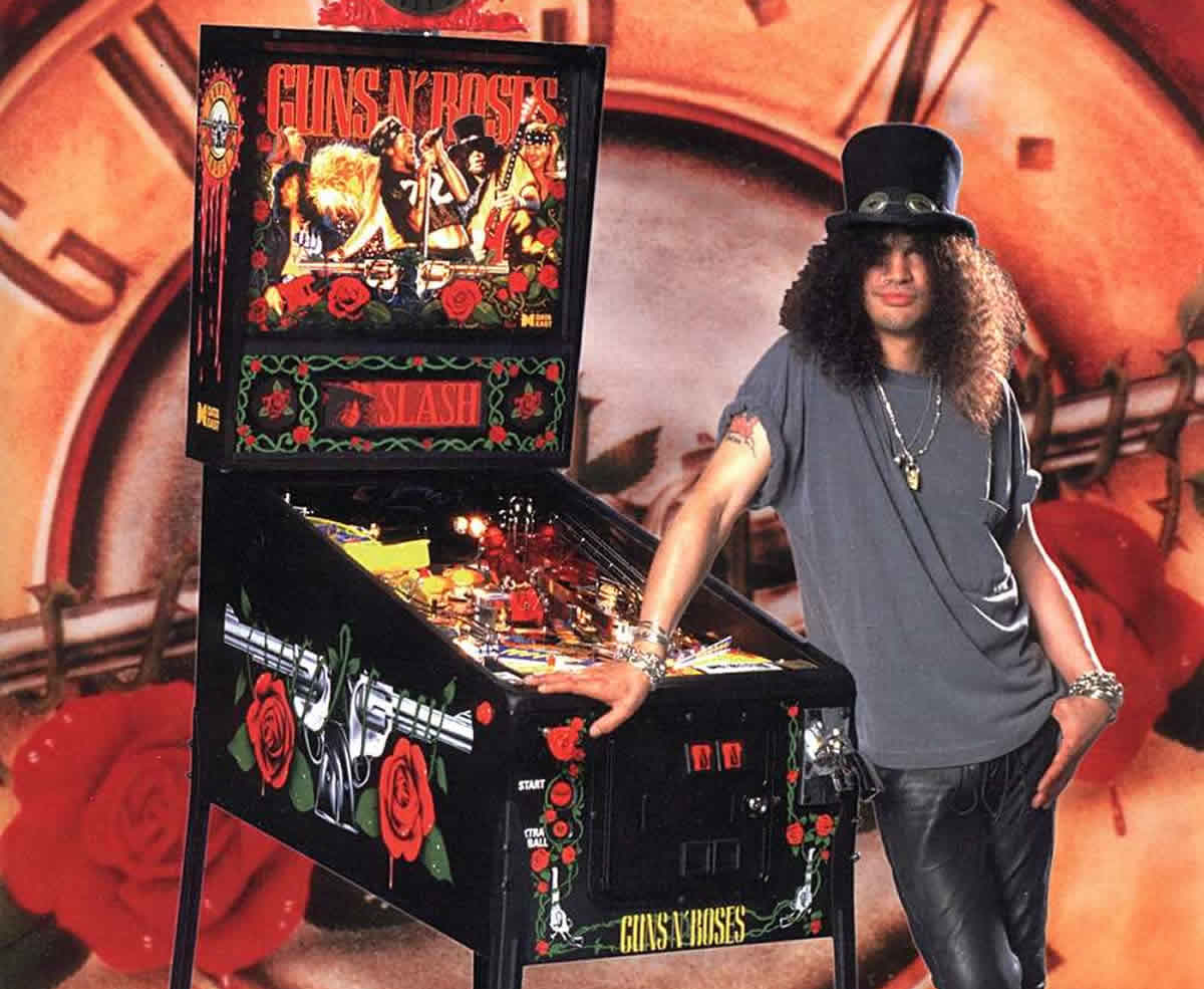 Slash - Guns & Roses Data East