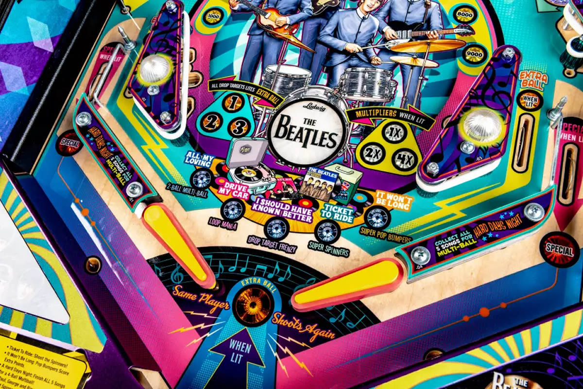 Stern Beatles Pinball