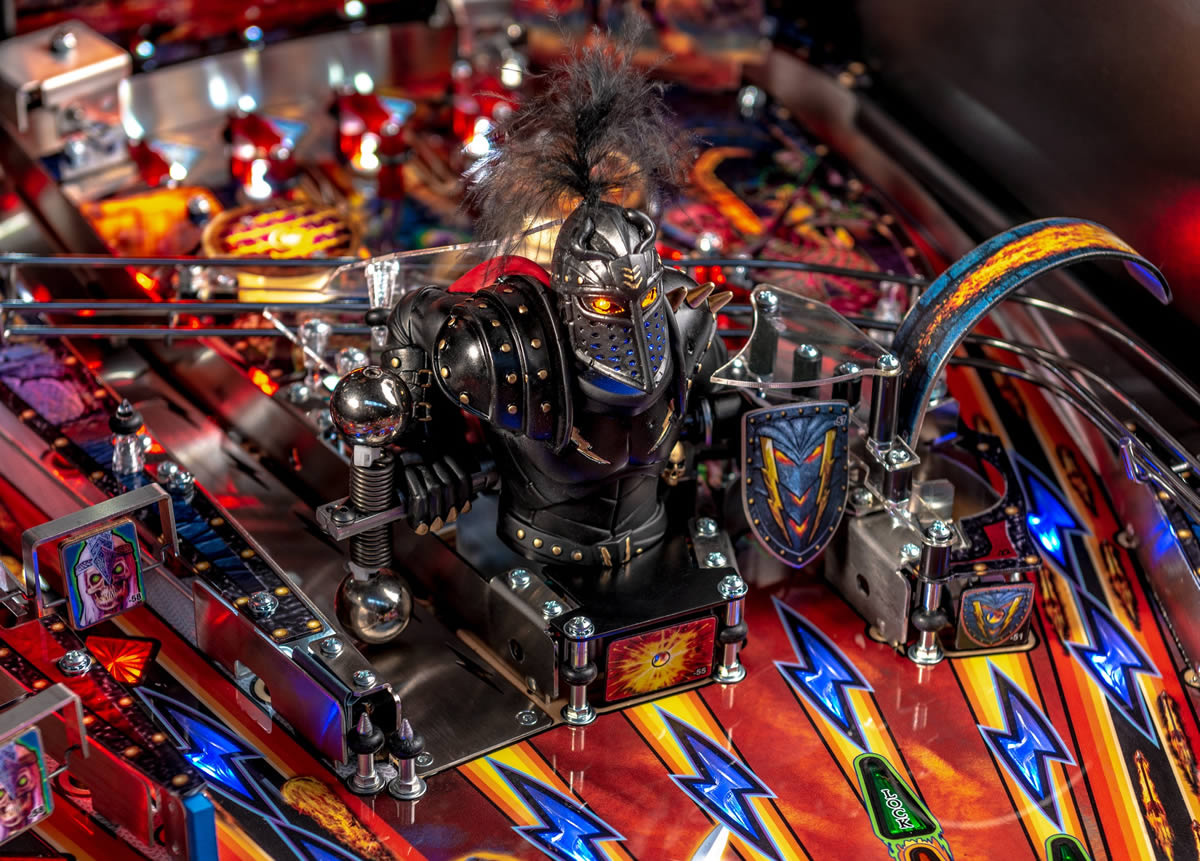 Stern Pinball – Black Knight: Sword of Rage