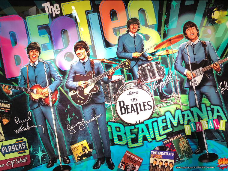 Beatles Pinball