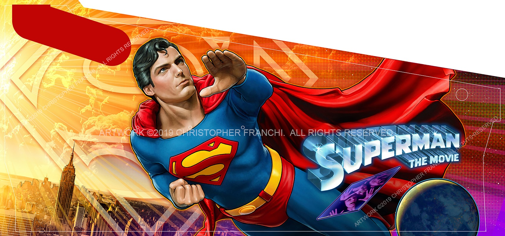 Superman 78 Pinball Machine