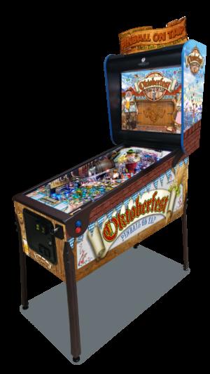 Oktoberfest pinball machine