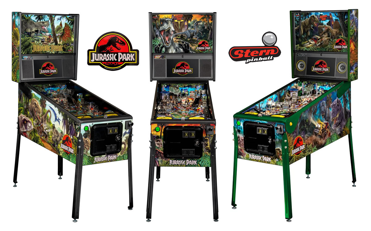 Stern Pinball Jurassic Park Pinball Machine