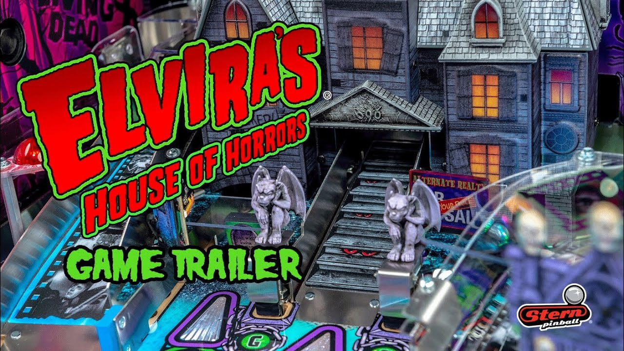 Elvira Pinball Machine by Stern Pinball
