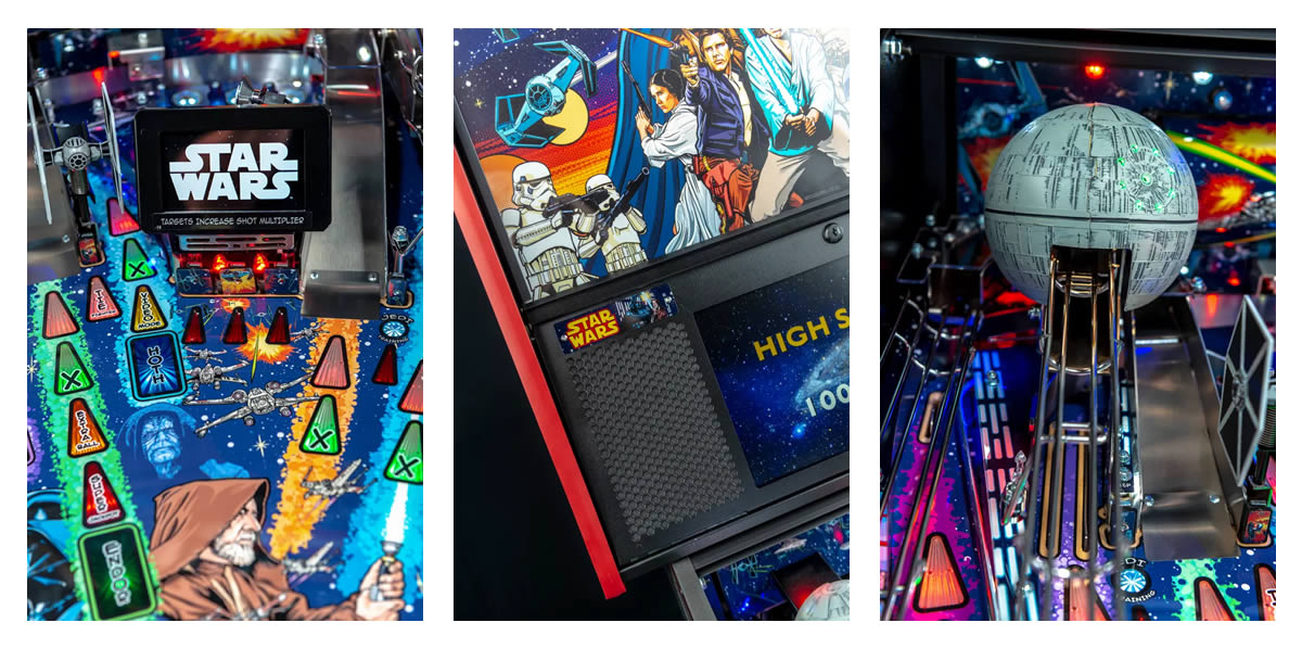 Stern Pinball Comic Art Pinball Machine