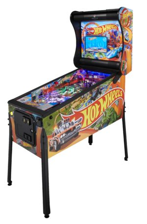 Hot-Wheel-Pinball-machine