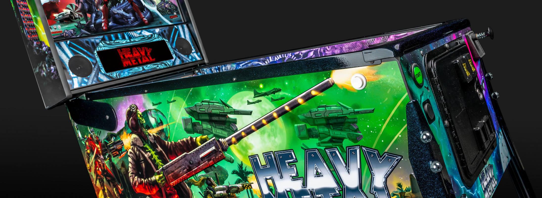 Heavy Metal Pinball Machine