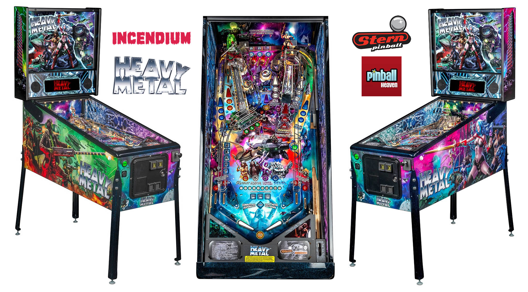 Heavy Metal Pinball Machine Announced