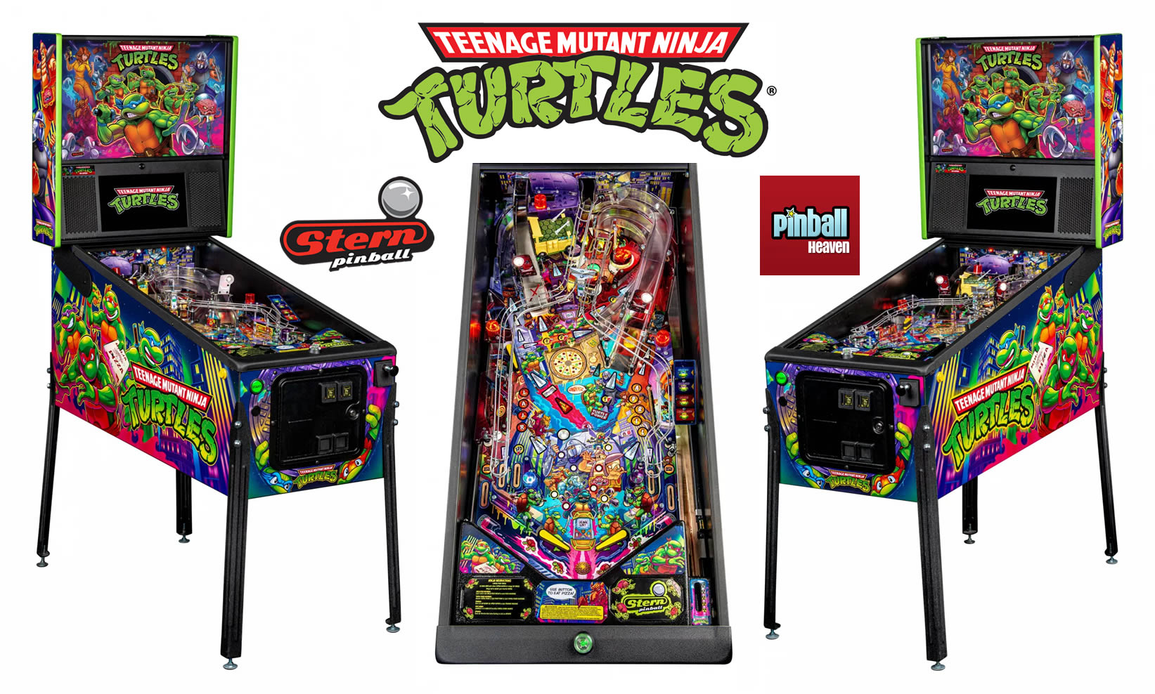 TMNT Pinball Machine Pro Edition