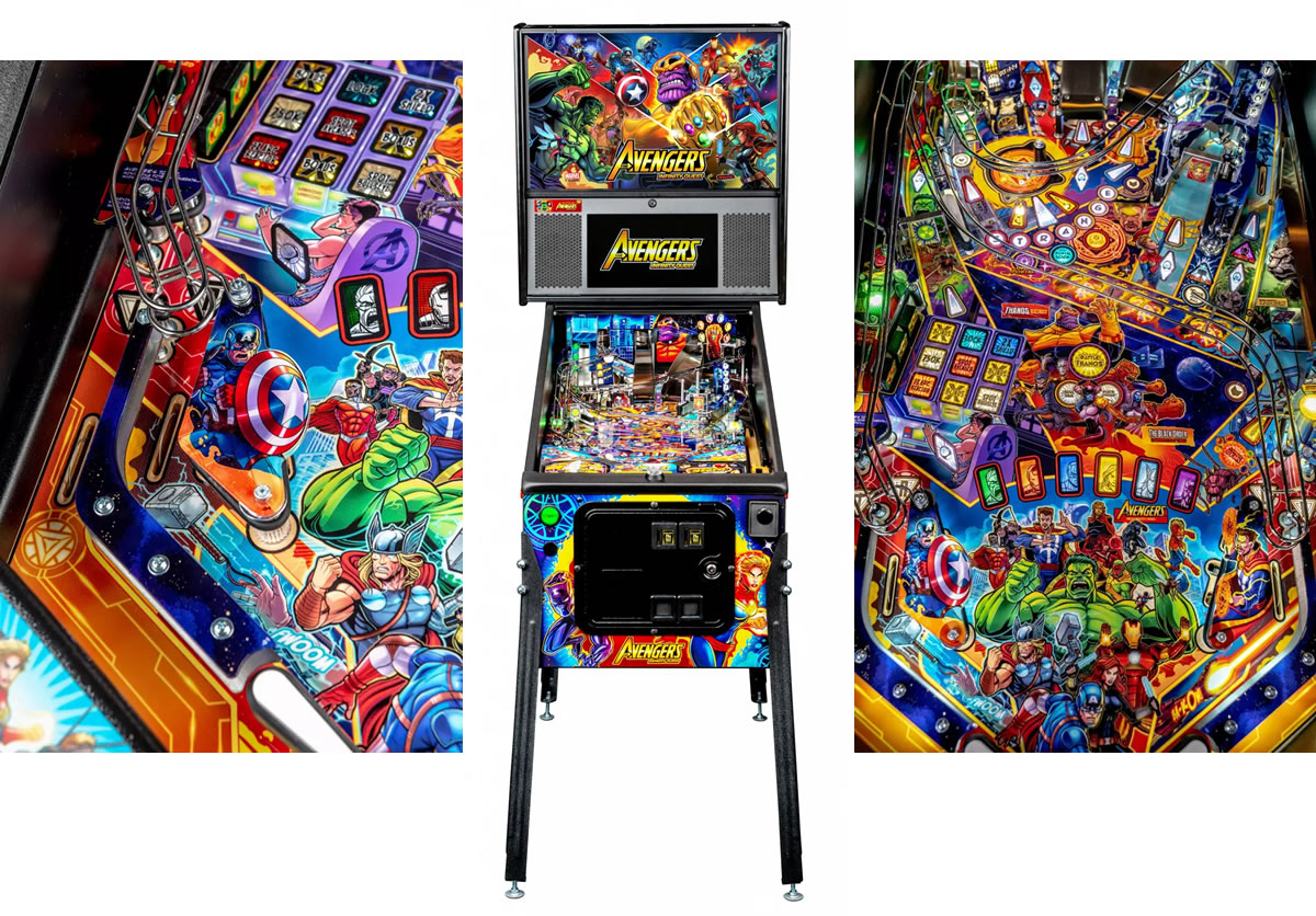 Avengers Pinball Machine