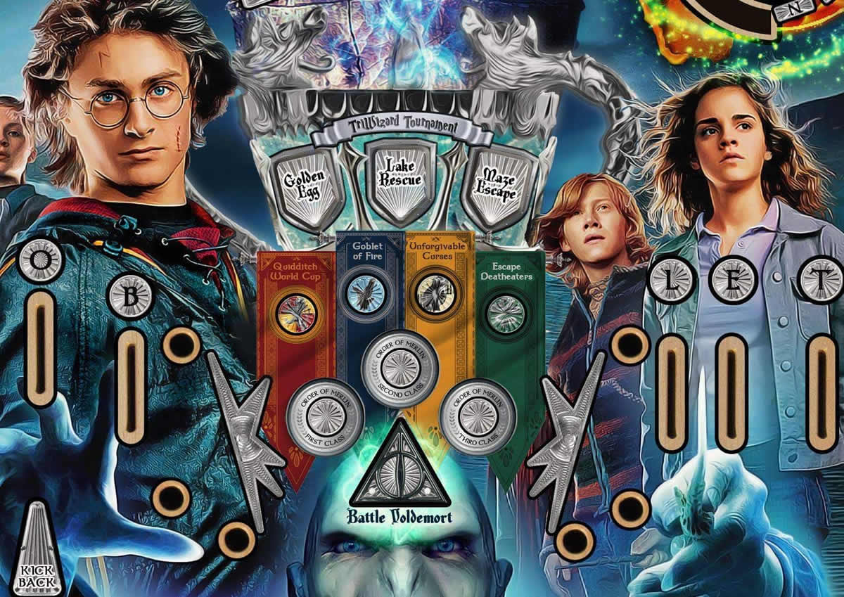 Harry Potter Pinball Machine