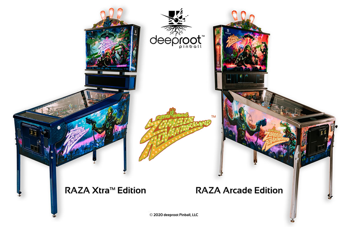 deeproot RAZA Pinball Machine
