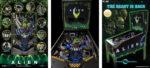 Alien Pinball Machine