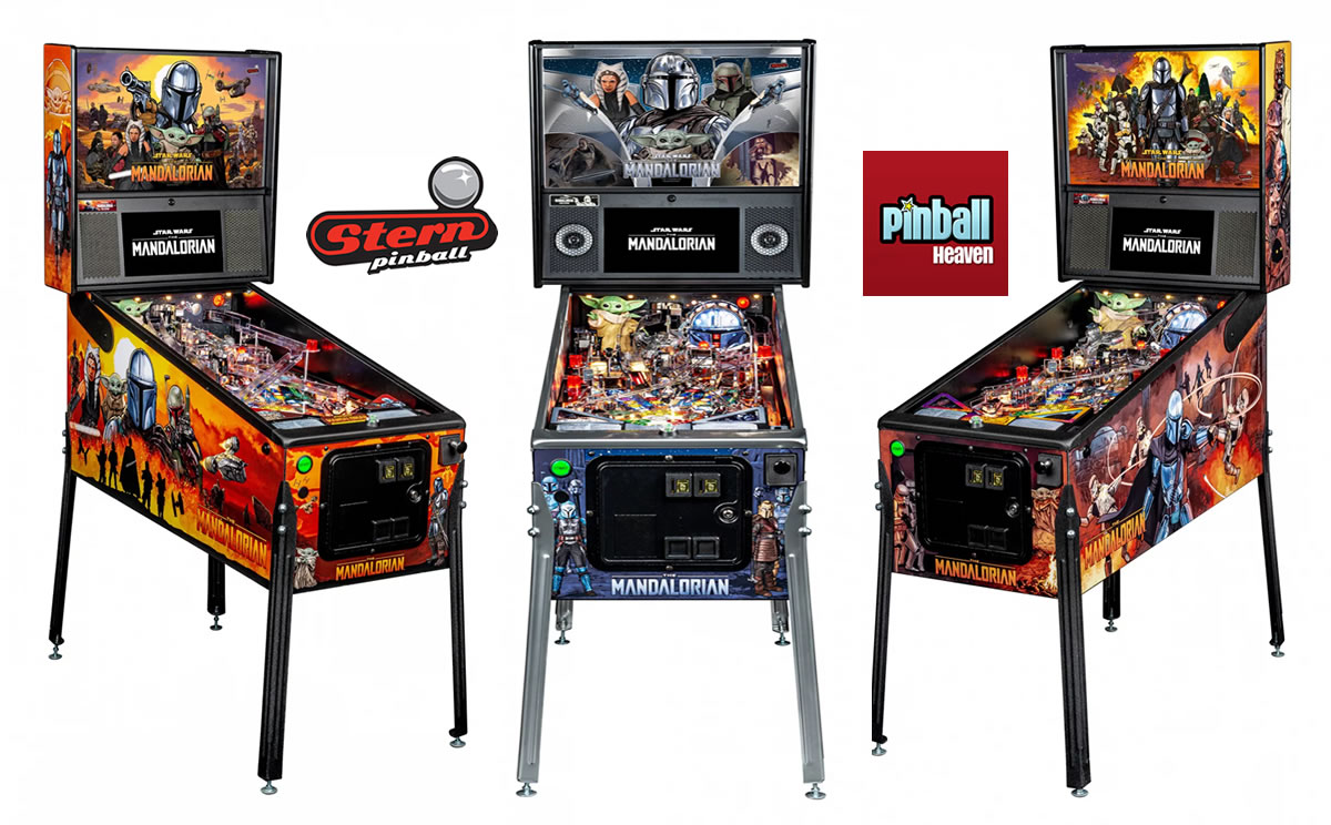 The Mandalorian Pinball Machine