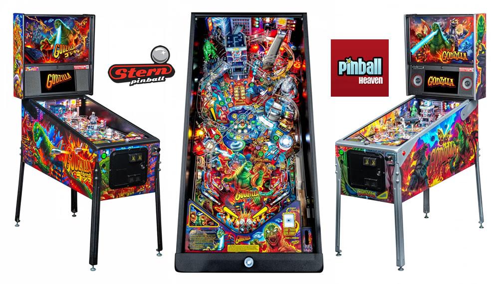 Stern Godzilla Pinball Machine